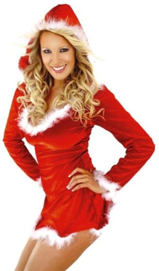 sexy pap noel traje vestido mujer una pieza navidad disfraz de para