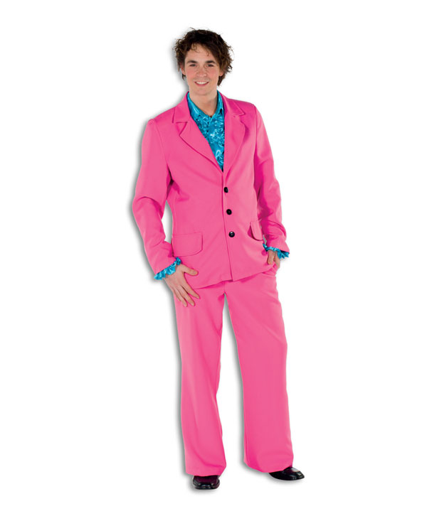 disco anzug neon pink 80er jahre schlager outfit herrenkost m sakko hose party ebay. Black Bedroom Furniture Sets. Home Design Ideas