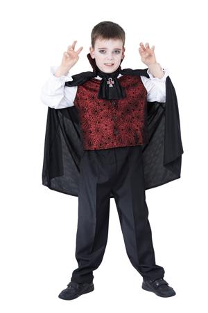 kinder vampir kost m f r 4 6 jahre kinderkost m grusel vampirkost m halloween ebay. Black Bedroom Furniture Sets. Home Design Ideas