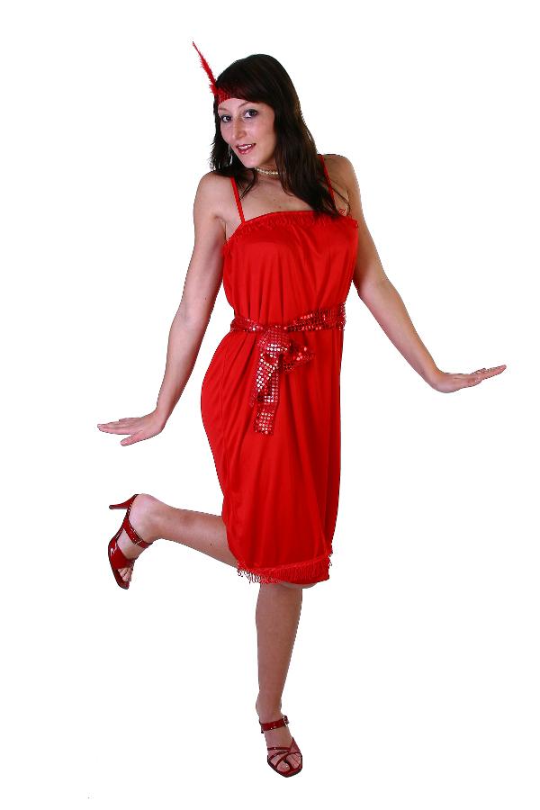 kleid kost m f r damen frauen 20er 30er jahre party faschingskost m rot rotes ebay. Black Bedroom Furniture Sets. Home Design Ideas