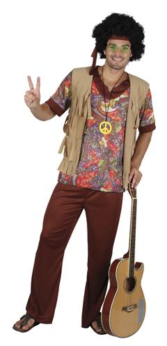 Hippiekostu00fcm komplett fu00fcr Herren siebziger Jahre Outfit Fasching Kostu00fcm Herren | eBay