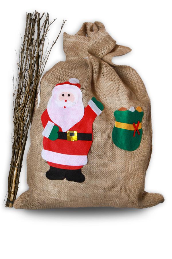 xxl jutesack nikolaussack weihnachten nikolaus weihnachten. Black Bedroom Furniture Sets. Home Design Ideas