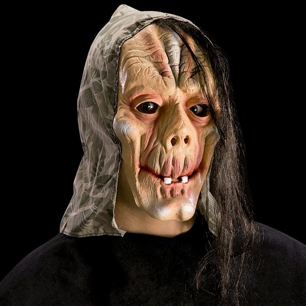 zombie maske latex kopftuch halloween latexmaske grusel. Black Bedroom Furniture Sets. Home Design Ideas