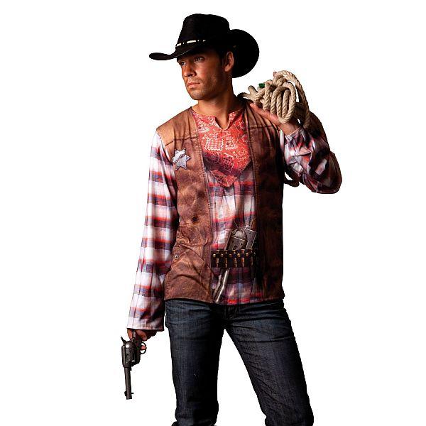 erwachsenen cowboy kost m cowboykost me herren fasching karneval faschingskost m ebay. Black Bedroom Furniture Sets. Home Design Ideas