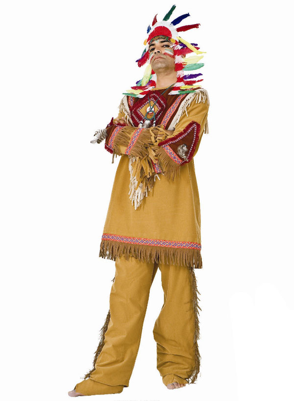 indianerkost m herren m nner komplett indianer verkleidung karneval fasching ebay. Black Bedroom Furniture Sets. Home Design Ideas
